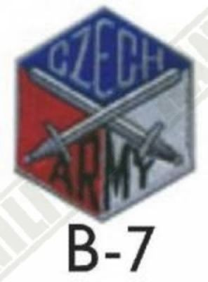 Nášivka CZECH ARMY meče