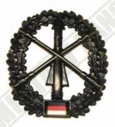 Odznak BW na baret HEERESFLUGABWEHR kovový