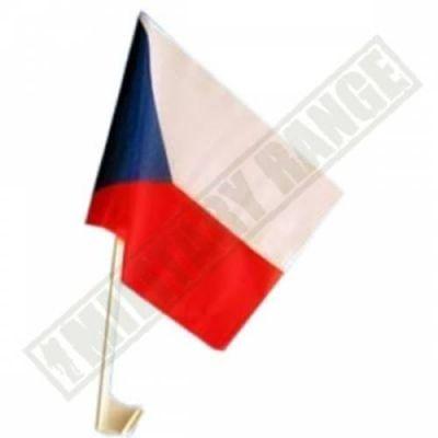 Vlajka na auto ČESKÁ REPUBLIKA