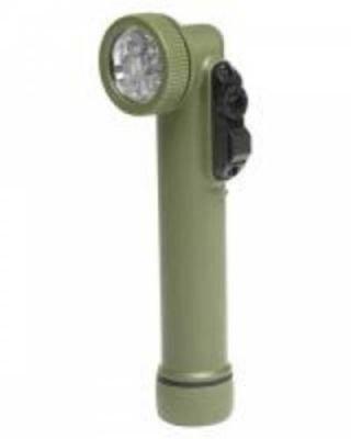 Baterka 6 LED Olive