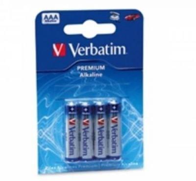 Baterie Verbatim Alkaline AAA R3A, 1.5V, mikrotužka (4pack)