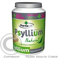 Pharmaline Psyllium Natural 100 kapslí + 25 % zdarma