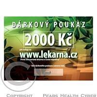 Elektronický dárkový poukaz v hodnotě 2000 Kč