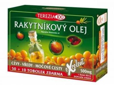Terezia 100% Rakytníkový olej 60 tobolek