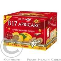 Terezia B17 APRICARC s meruňkovým olejem 180 kapslí