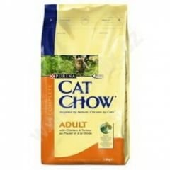 CAT CHOW Adult 1,5kg kuře, krůta