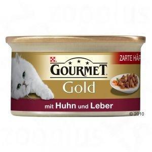 Gourmet Gold 85g kuře+játra kousky m.