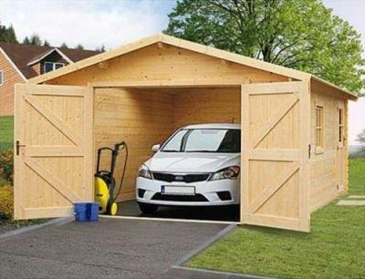 Srubová garáž Karin