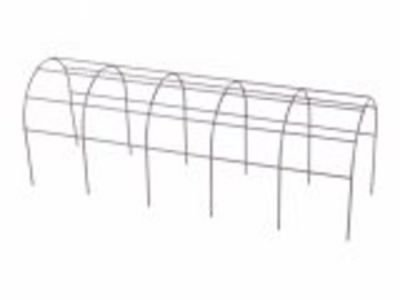 Mřížka opěrná na truhlík - kovová  40cm