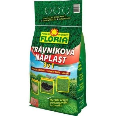 Trávníková náplast 3v1 1kg FLORIA