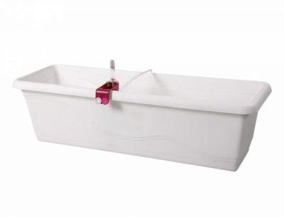 Truhlík samozavlažovací EXTRA LINE SMART 60cm bílá