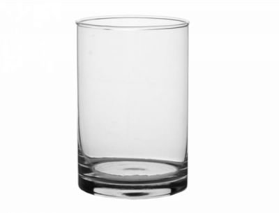 Váza VALEC d10x10h sklo