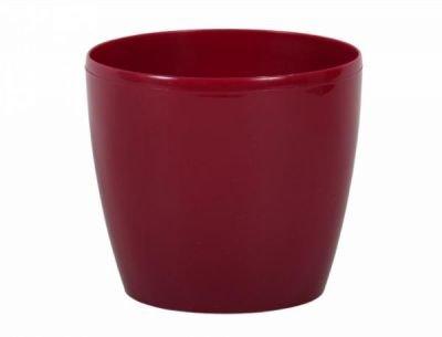 Obal MAGNOLIE d14cm červený lesklý