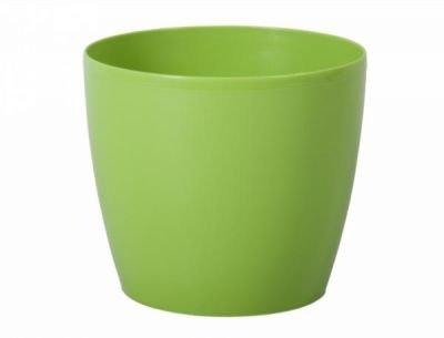Obal MAGNOLIE d18cm zelený lesklý