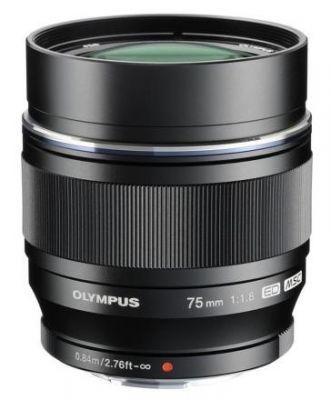 Olympus M.ZUIKO ED 75mm f/1,8 černý