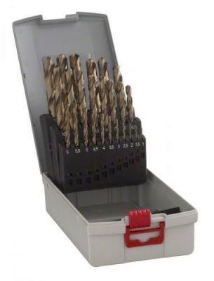 25dílná sada vrtáků do kovu ProBox HSS-Co, DIN 338 (legované kobaltem) (2608587018)