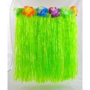 Havajská sukně - zelená