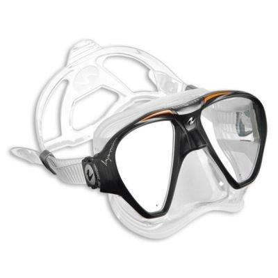 Potápěčská maska Technisub Impression silikon transparent, oranžová