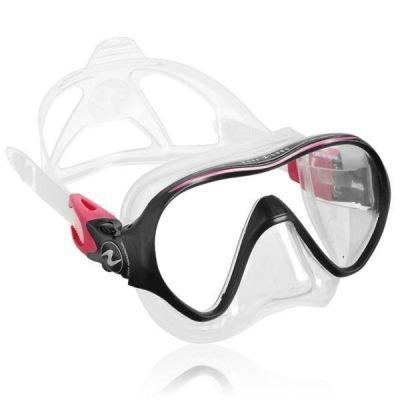 Potápěčská maska Technisub Linea silikon transparent, růžová