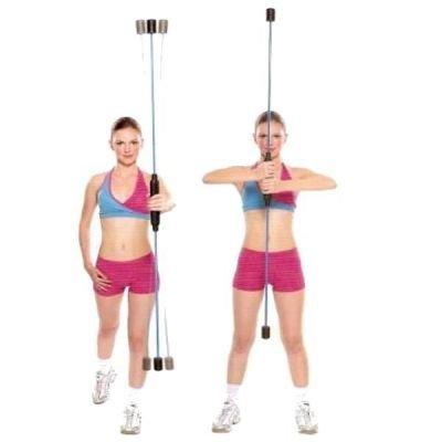 Aerobic tyč Master Swing Flexal Bar
