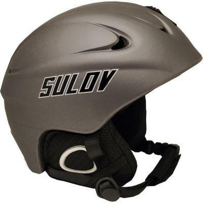 Lyžařská helma Sulov REVOLT velikost XL, šedá-stříbrná