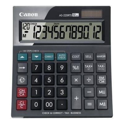 Kalkulačka Canon AS-220RTS, černá
