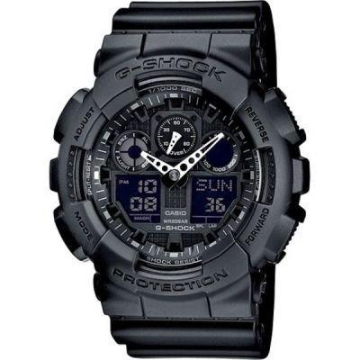 G-Shock GA-100-1A1ER Black univerzální
