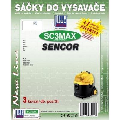 Filtr Jolly MAX SC 3 (3ks) do vysav.