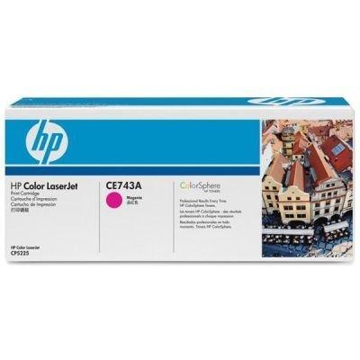 Toner HP CE743A, 7,3K stran originální - červená