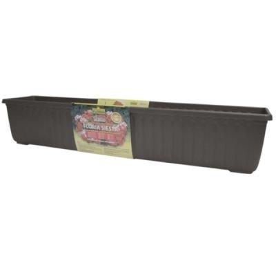 Truhlík Agro FLORIA SIESTA 100 cm - Čokoláda, samozavlažovací