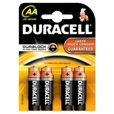 Baterie Duracell Basic AA 1500 K4 Duralock