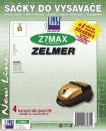 Filtr Jolly MAX Z 7 (4ks) do vysav. ZELMER Magnat 3000, Jupiter 4000, Maxim 3000, Solaris 5000