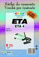 Filtr Jolly ETA 4 (5+1ks) do vysav. ETA