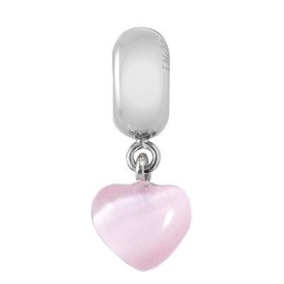 Přívěsek Morellato Drops Pink Heart Srdce CZ445