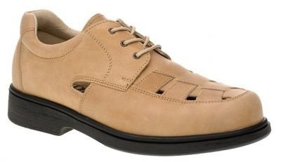Pánská kožená zdravotní obuv