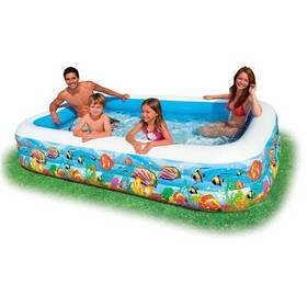 "Intex Swim-Center ""Tropical Reef Family Pool"" 3,05x1,83x0,56 m - nafukovací"