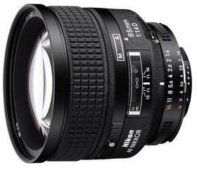 Nikon NIKKOR 85MM F1.4 AF D A černý