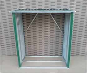 Přístřešek na dřevo CEV 146 x 54 x 150 cm plech ZE