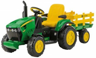 Peg-Perego | Peg Perego - JOHN DEERE GROUND FORCE 12V