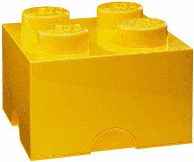Bez určení výrobce | LEGO BOX - žlutý