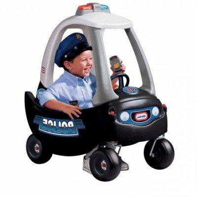Little Tikes - Cozy Coupe - policejní