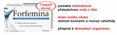 NP PHARMA Sp. z o.o. OSTROW MAZOWIECKA   Forfemina přípravek na odvodnění těla cps.30