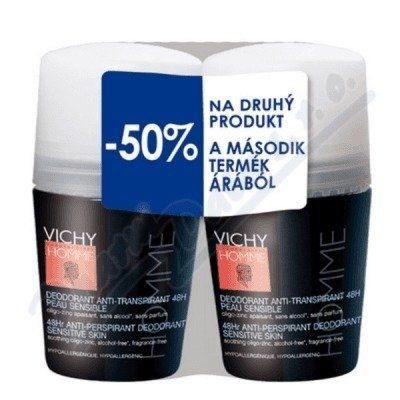 VICHY | Vichy Homme Deo roll-on DUO 2x50ml