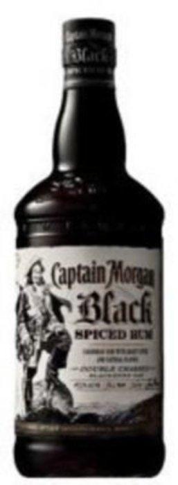 Captain Morgan Black Spiced 40% 0.7l