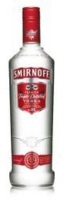 Smirnoff Red vodka 37,5%