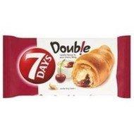 7Days Croissant double vanilka+višeň 60g