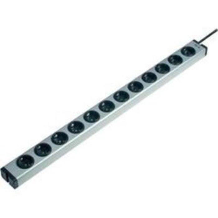Zásuvková lišta Ehmann, 12 zásuvek, 1,5m kabel