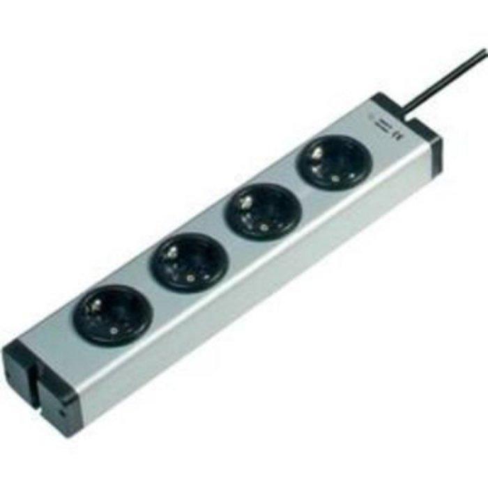 Zásuvková lišta Ehmann, 4 zásuvky, 1,5m kabel