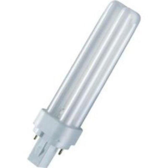 Usporná zářivka Osram, 26 W, G24d-3, 172 mm, teplá bílá