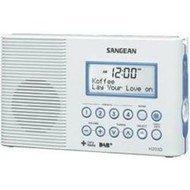 Koupelnové DAB+ rádio Sangean H-203D, FM, bílá